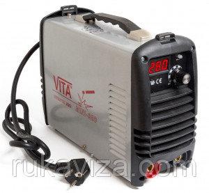 Инвертор ММА-280 mini VITA в металлическом кейсе .