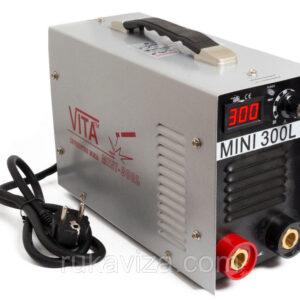 Инвертор ММА-300 mini VITA в металлическом кейсе.